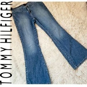 TOMMY HILFIGER BLUE JEANS FLARE CIRCA 2003